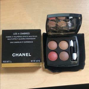 Chanel eyeshadow quad